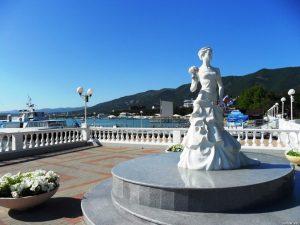 экскурсия к скульптуре белая невеста геленджик