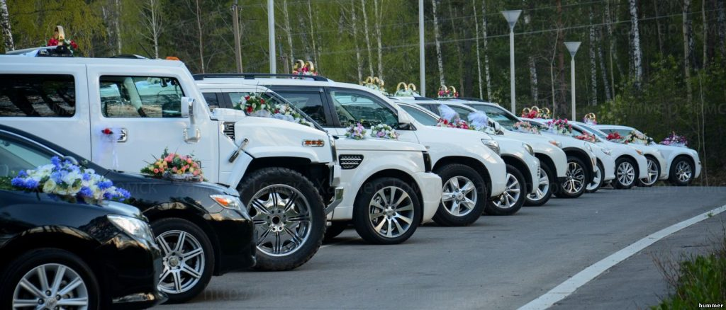 Аренда авто на свадьбу в Краснодаре, Кортеж на свадьбу