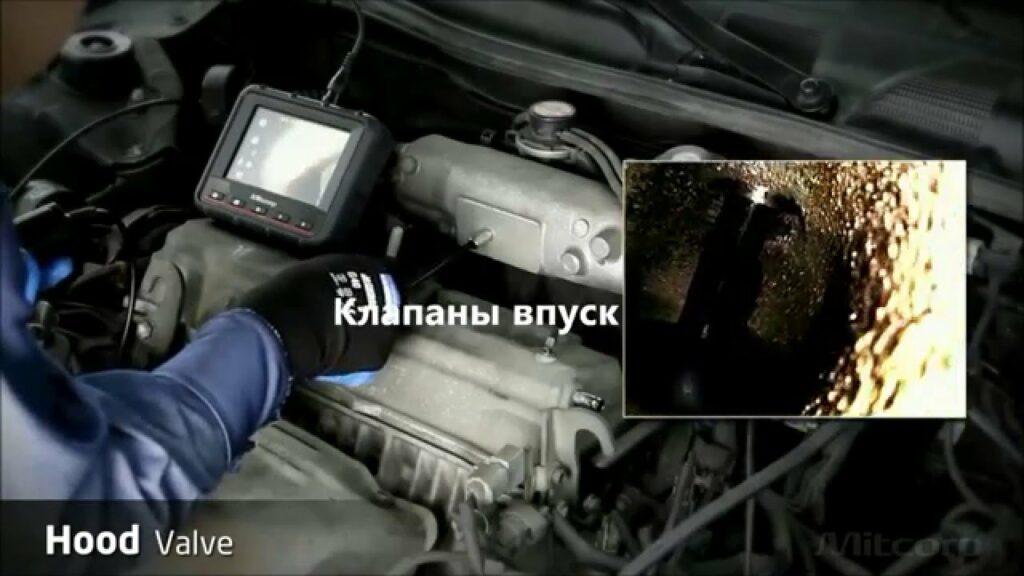проверка двигателя эндоскопом в Анапе Краснодаре